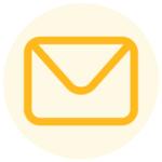 Icono información e-mail de contacto, sobre como obtener el Carnet y Certificado del Curso de Manipulador de Alimentos