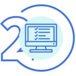 Icono Paso 2, Realizar el Examen o Test del Curso Manipulador de Alimentos con Carnet y Certificado